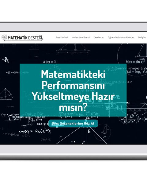 özel matematik desteği web sitesi tasarımı